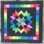 Mini Rainbow Star Quilt - Free Pattern