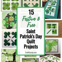15 Festive and Free St. Patrick's Day Quilt Projects