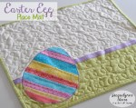 Easy Easter Egg Placemat Pattern