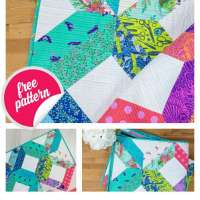 Free Fancy Fat Quarter Quilt Pattern