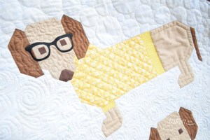 Dogs In Sweaters By Elizabeth Hartman - Quilting Ideas