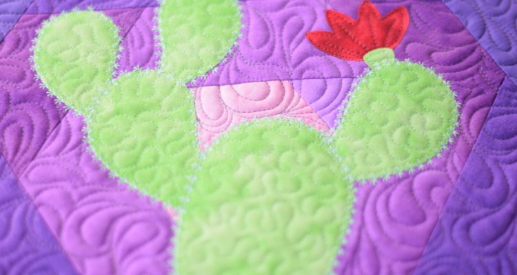 Hexi Cactus Applique Designs