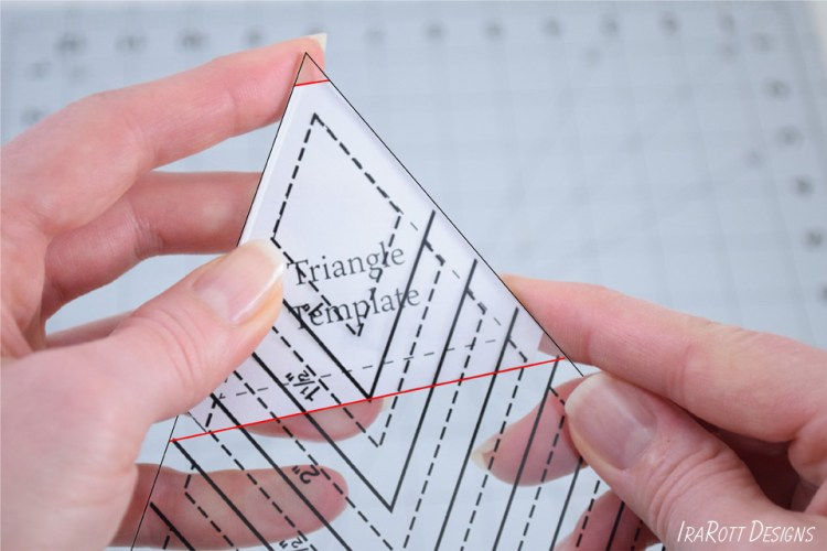 60 Degree Triangle Ruler With Pointy Corners