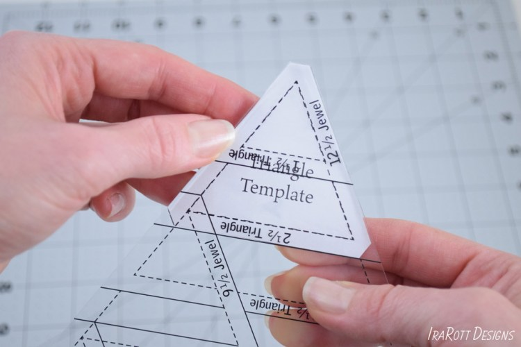 60 Degree Triangle Ruler With Trimmed Corner
