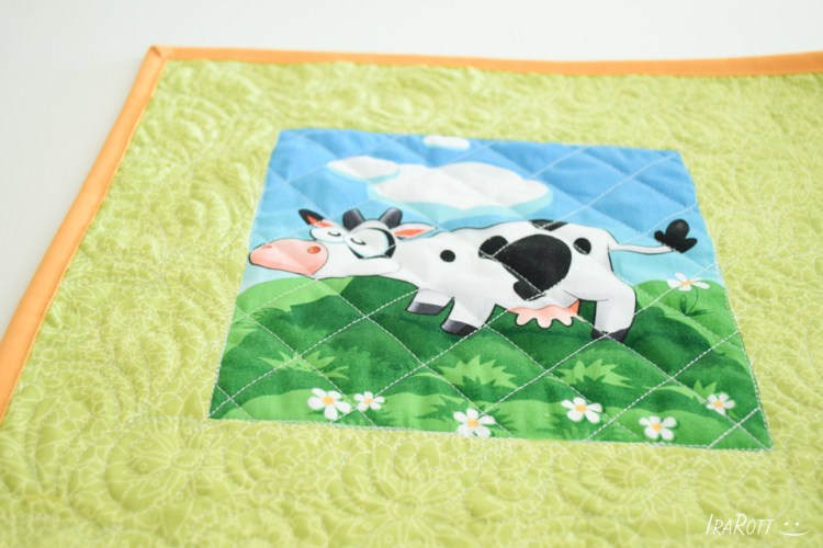 Cow Quilt For Luna