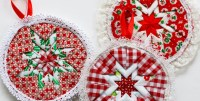 How To Sew Christmas Decorations - Christmas Lights Card ...