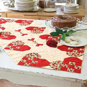 Quick And Easy Heart Of The Home Table Runner Quilting