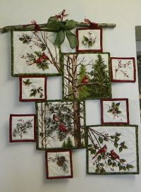 Make a Creative Wall Hanging from a Fabric Panel ...