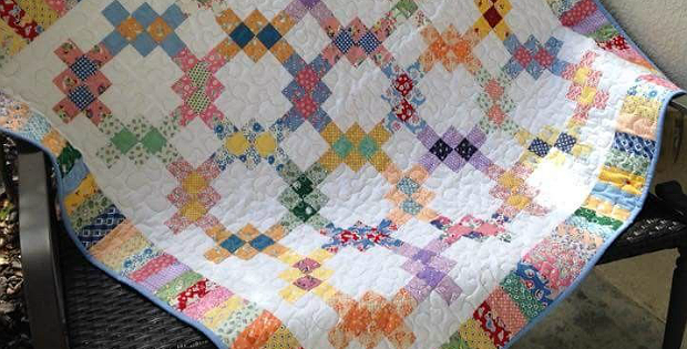 Dig Into Your Scraps for This Beautiful Quilt - Quilting Digest