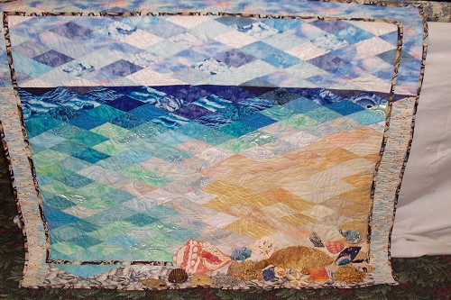 beach and sea quilts - quilting