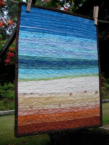 beach & seashore quilts - quilting