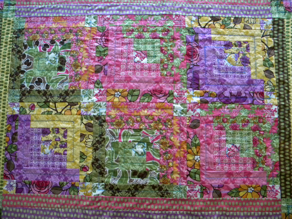 Quilt for Baby Miller - Completed Quilt