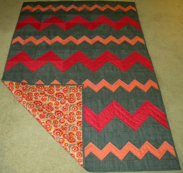 ZigZagged - Completed Quilt
