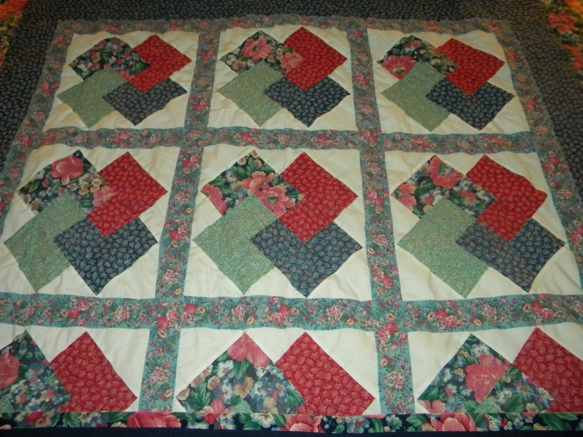 Yvonne's First Quilt - Detail