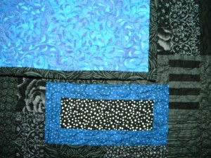 Blue Rover - Quilting Detail