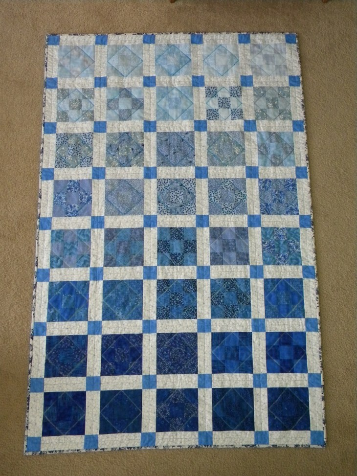 Quilt for Eliza - Completed Front