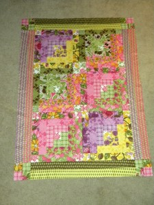 Quilt for Baby Miller - Pieced Top