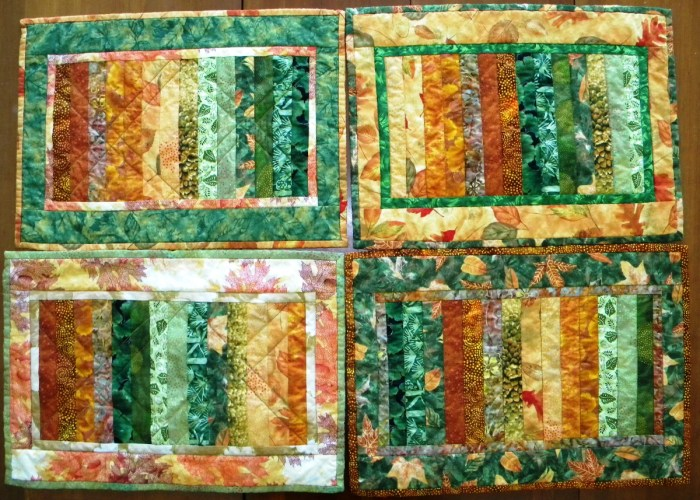 Placemats - Front
