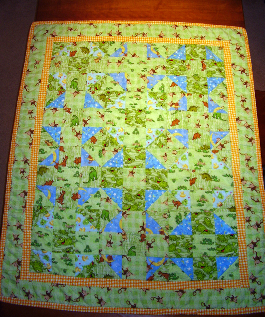 Tighe Baby Quilt - Front
