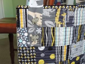 Lillie Mae Tote Bag - Elephant Buttons!