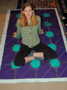 Roundabout - Quilting is Joyous!