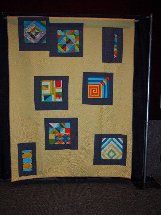 Quilt with Solar Flare