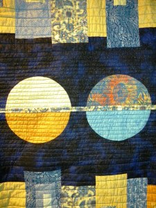 Modern Mystery Quilt - Quilting Detail