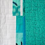 Spring Rain Baby Quilt III - Quilting Detail