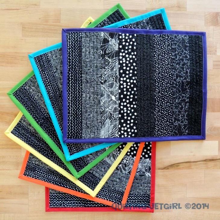 Rainbow Placemats - I Love ROYGBIV
