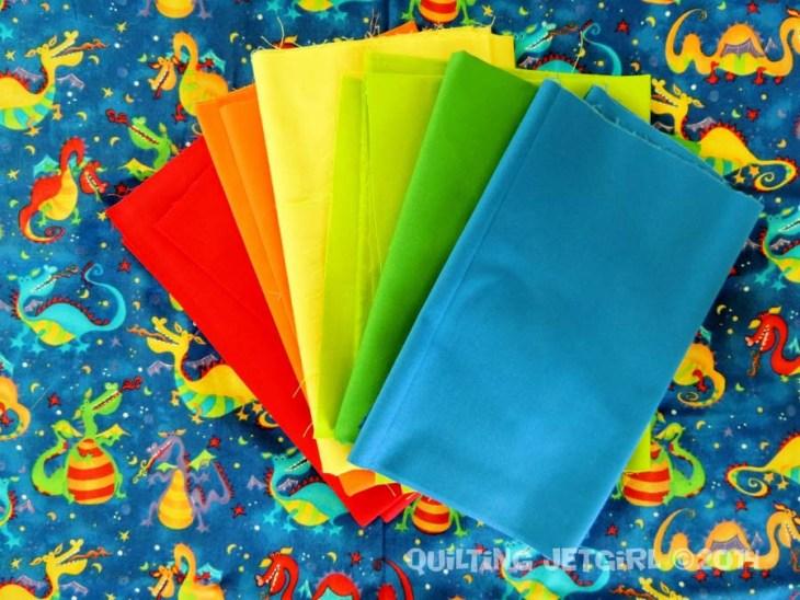 Dragon Quilt - Fabric Pull