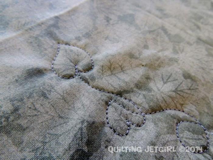Vine with Gray Thread