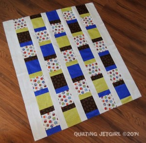 """Owl City Baby Quilt - 38"""" by 42.5"""""""