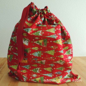 Christmas Tree Gift Bag
