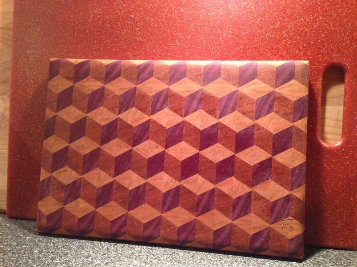 Inspiration: Handmade Cutting Board