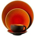 Inspiration: Wedding Registry Dinnerware (Orange Jars Tourron)