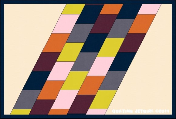 Parallelogram Placemat: Offset