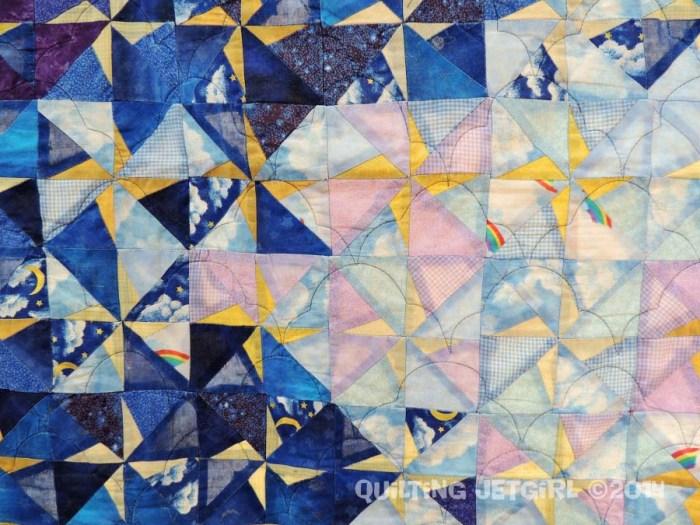Star Quilt - Fabric Detail