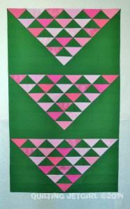 Three Flocks - Three of Three Triangle Sets Complete