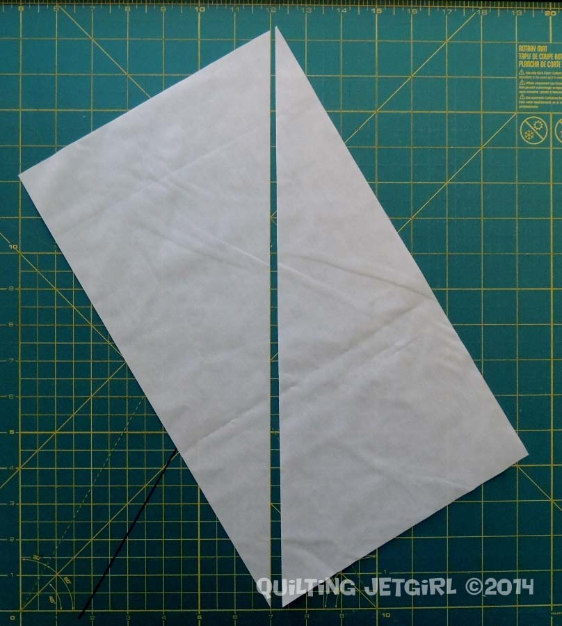 Parallelogram Placemats: Background Triangles