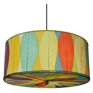 Cocoa Drum Lamp - Inspiration for Quilt