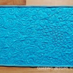 Fiestaware Placemats - Turquoise/Teal Back