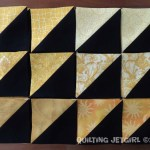 """Foothills Mystery Quilt - 144 HSTs (3.5"""" x 3.5"""")"""