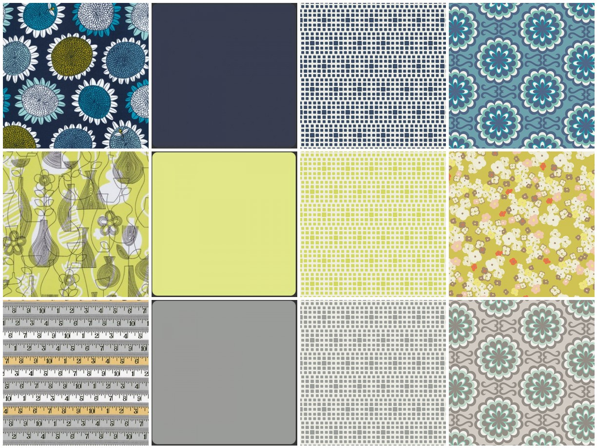 Quilting Jetgirl: Folksy Fall Palette 1