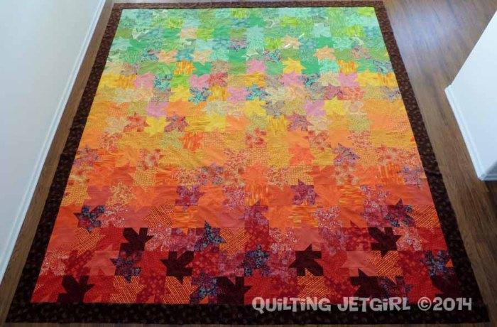 Tessellated Leaves - Flimsy Finish