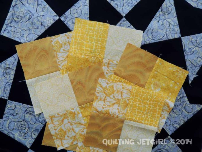 Foothills Mystery Quilt - December 2014 Blocks