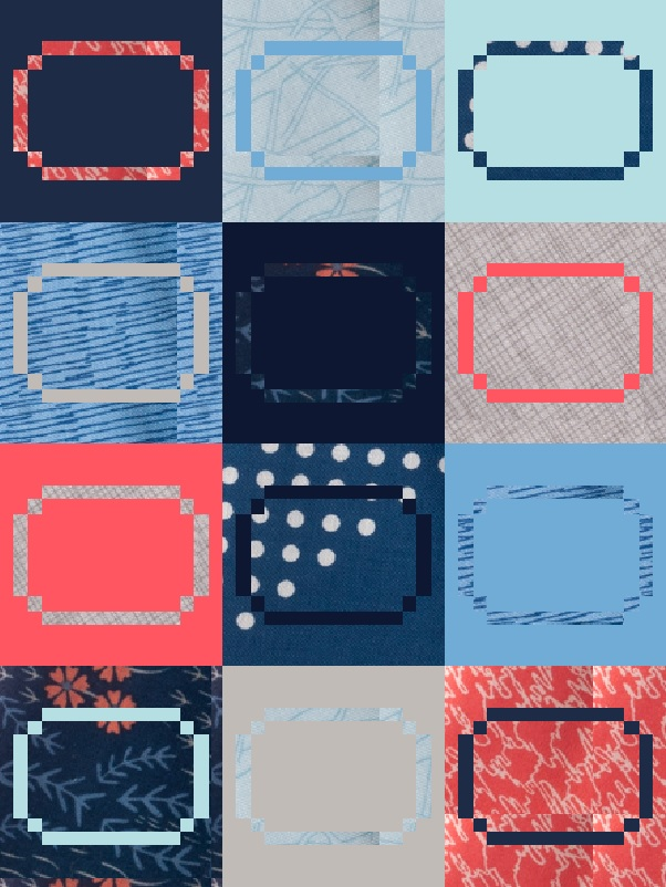 Racetrack Quilt Pattern