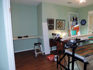 Sewing Room - Monday Progress