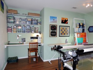 Updated Sewing Room