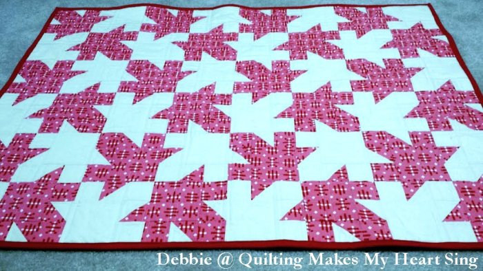 Tessellated Leaves by Debbie @Quilting Makes My Heart Sing