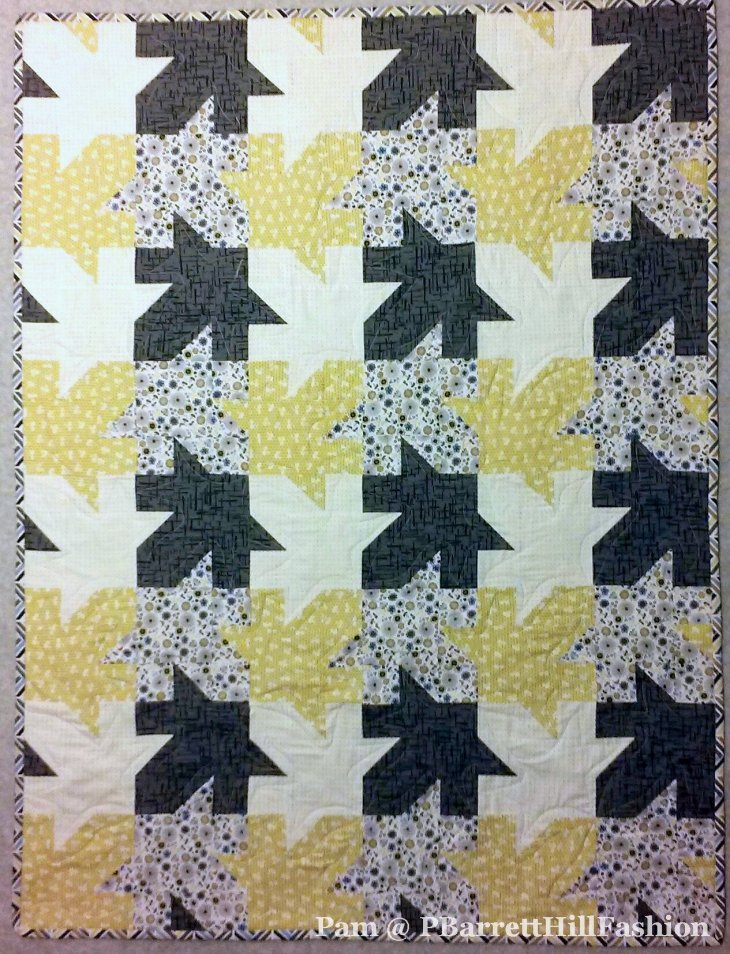Tessellated Leaves by Pam @PBarrettHillFasion